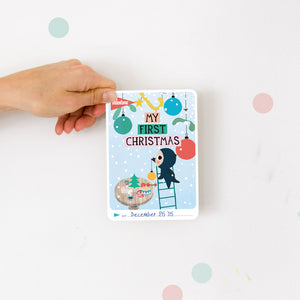 Christmas 2015 - Free Milestone Card printable