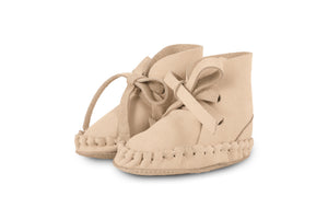 Pina - Nubuck Cream Leather by Donsje