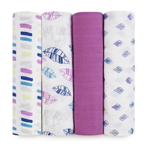Classic Swaddles by Aden + Anais | Wink 4 Pack