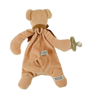 Cubby the Bear Comforter by Maud n Lil