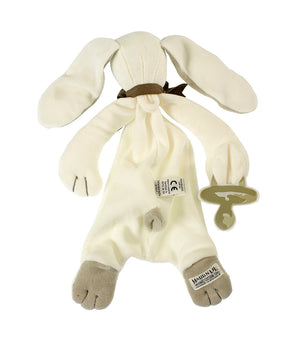 Grey Ears Bunny Comforter by Maud n Lil