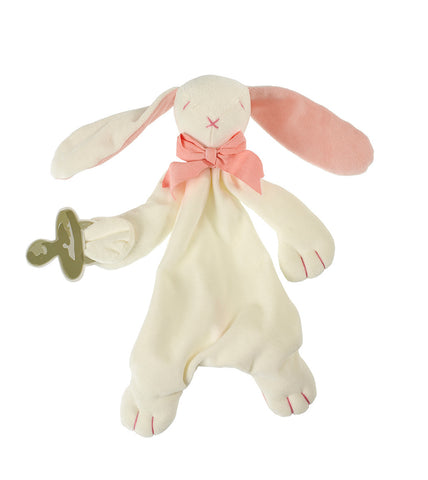 Pink Ears Bunny Comforter by Maud n Lil