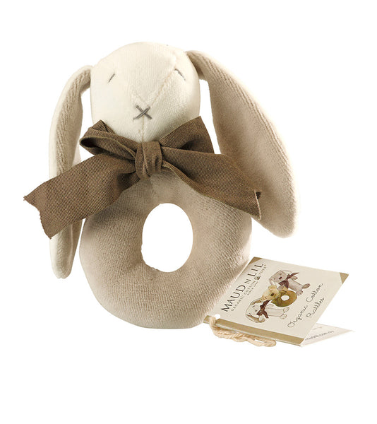 Grey Ears Donut Rattle by Maud n Lil