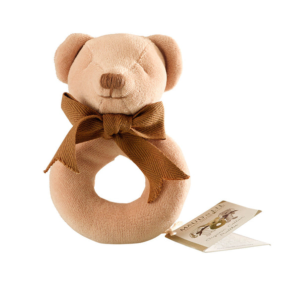 Cubby Donut Rattle by Maud n Lil