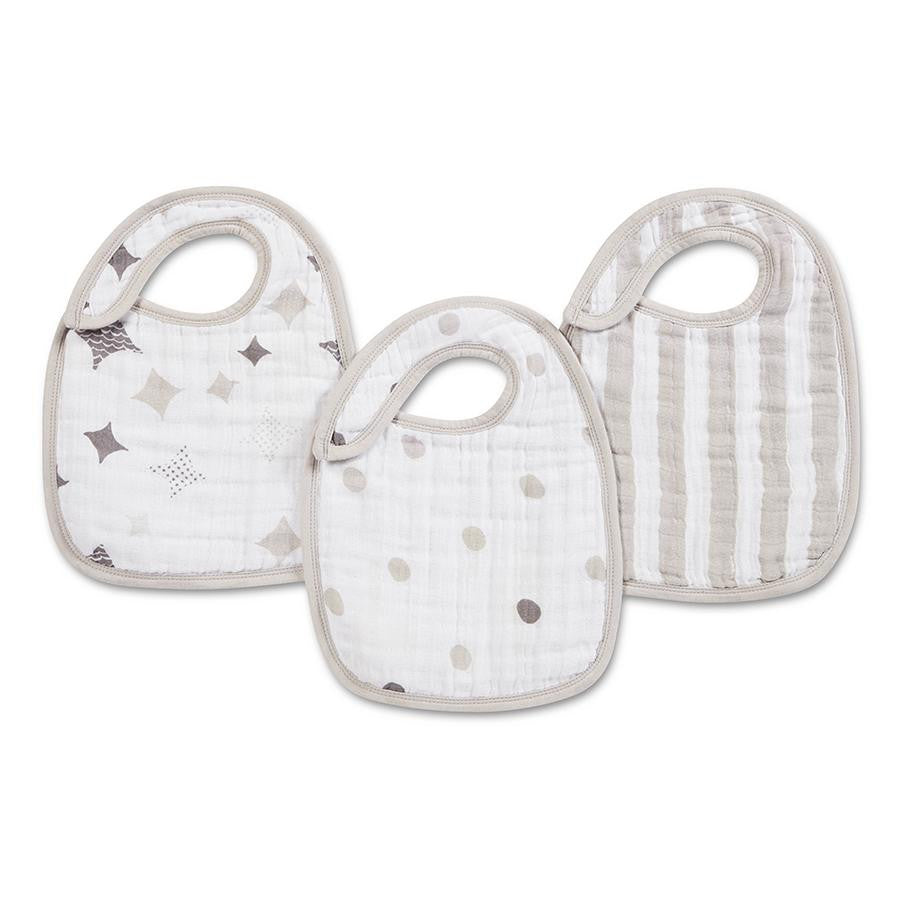 Classic Snap Bibs by Aden + Anais | Shine On 3 Pack
