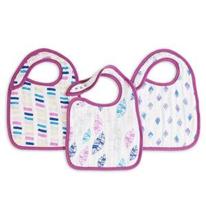 Classic Snap Bibs by Aden + Anais | Wink 3 Pack