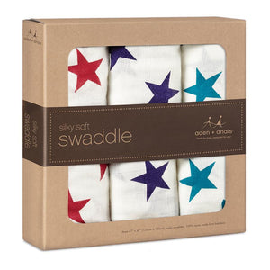 Celebration Bamboo Swaddle 3Pk by Aden + Anais
