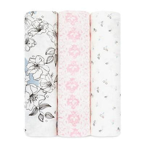 Meadowlark Bamboo Swaddle 3 Pack by Aden + Anais