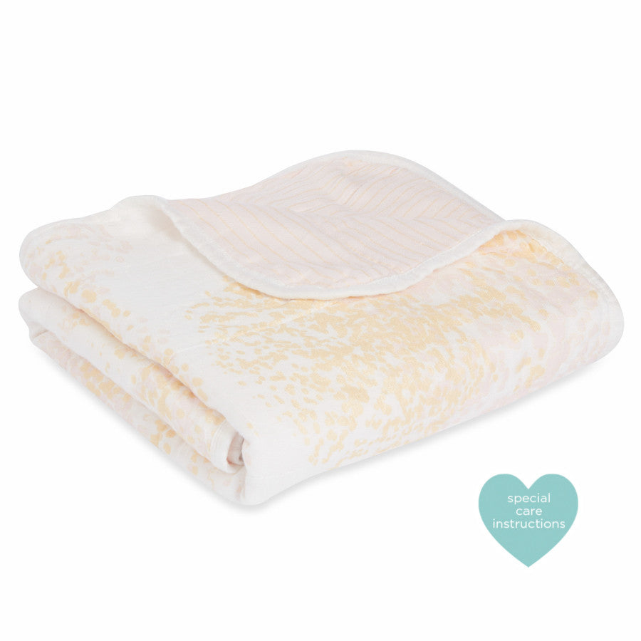 Stroller Blanket by Aden + Anais | Metallic Primrose Birch