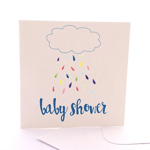 Baby Rain Gift Card by Sketchy