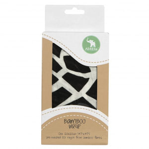 Bamboo Swaddle by All4Ella - Geometric Black