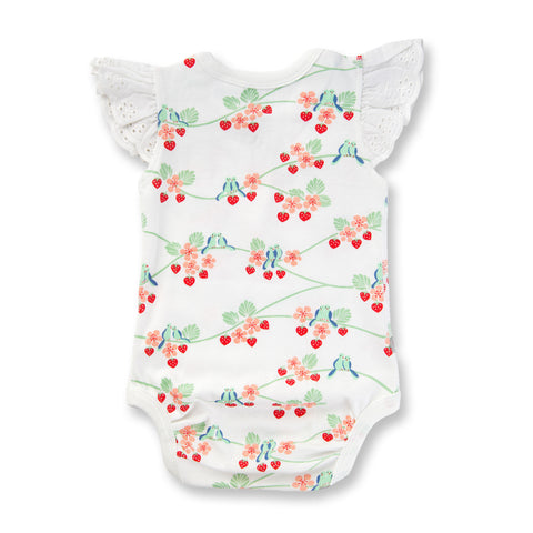 BLUEBIRDS LACE BODYSUIT BY SAPLING CHILD