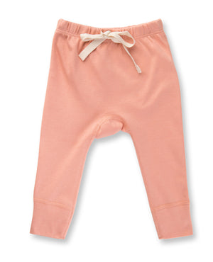 Heart Pants by Sapling Child - Peach Blossom