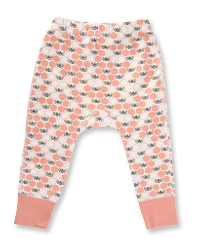 Peach Blossom Bees Pants by Sapling