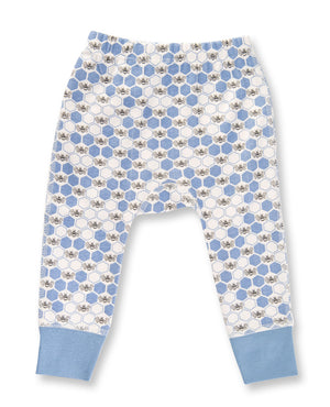 Cornflower Blue Bees Pants by Sapling