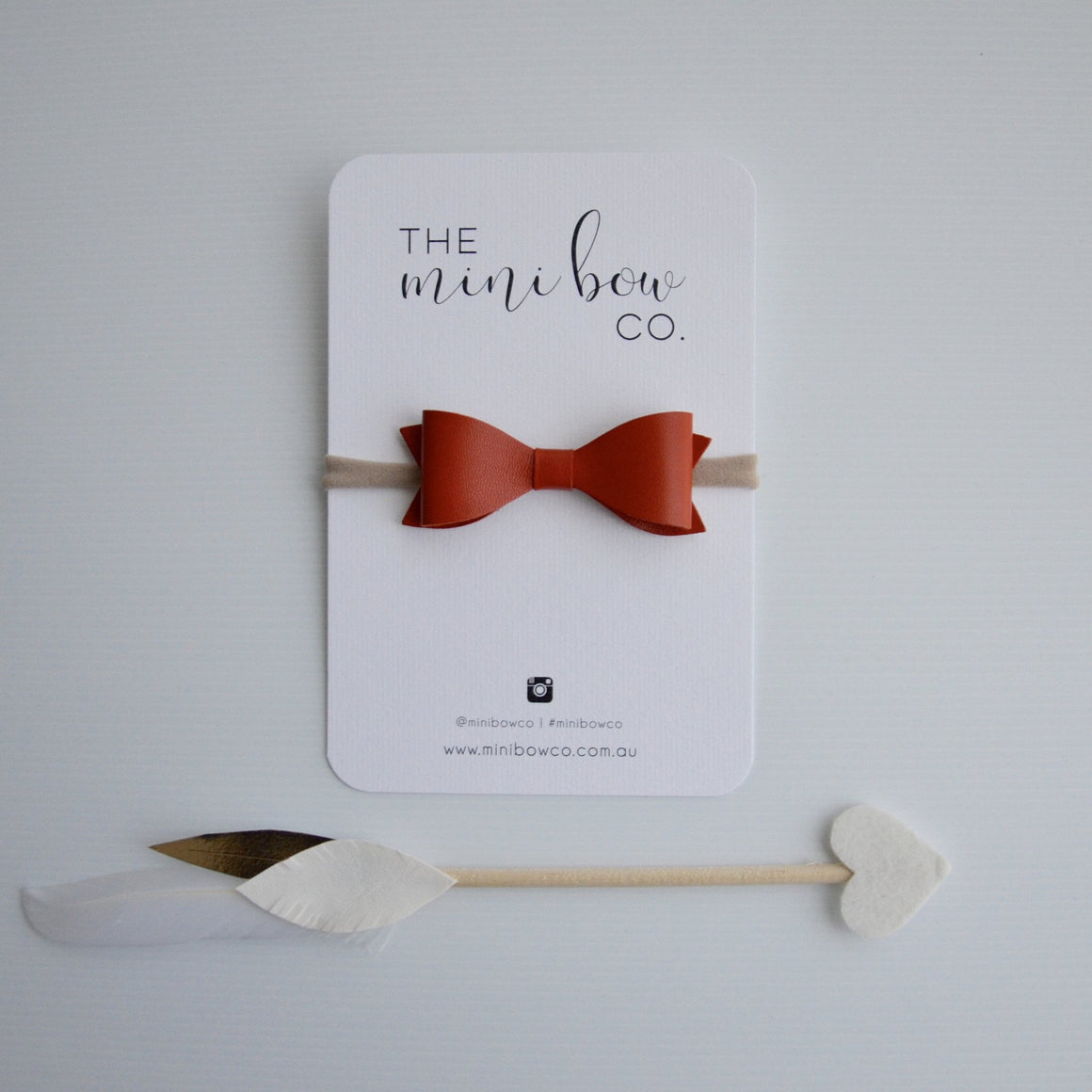 Classic Bow - Burnt Orange