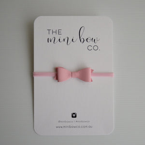 Mini Bow - Candy Pink