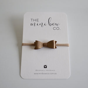 Mini Bow - Bronze