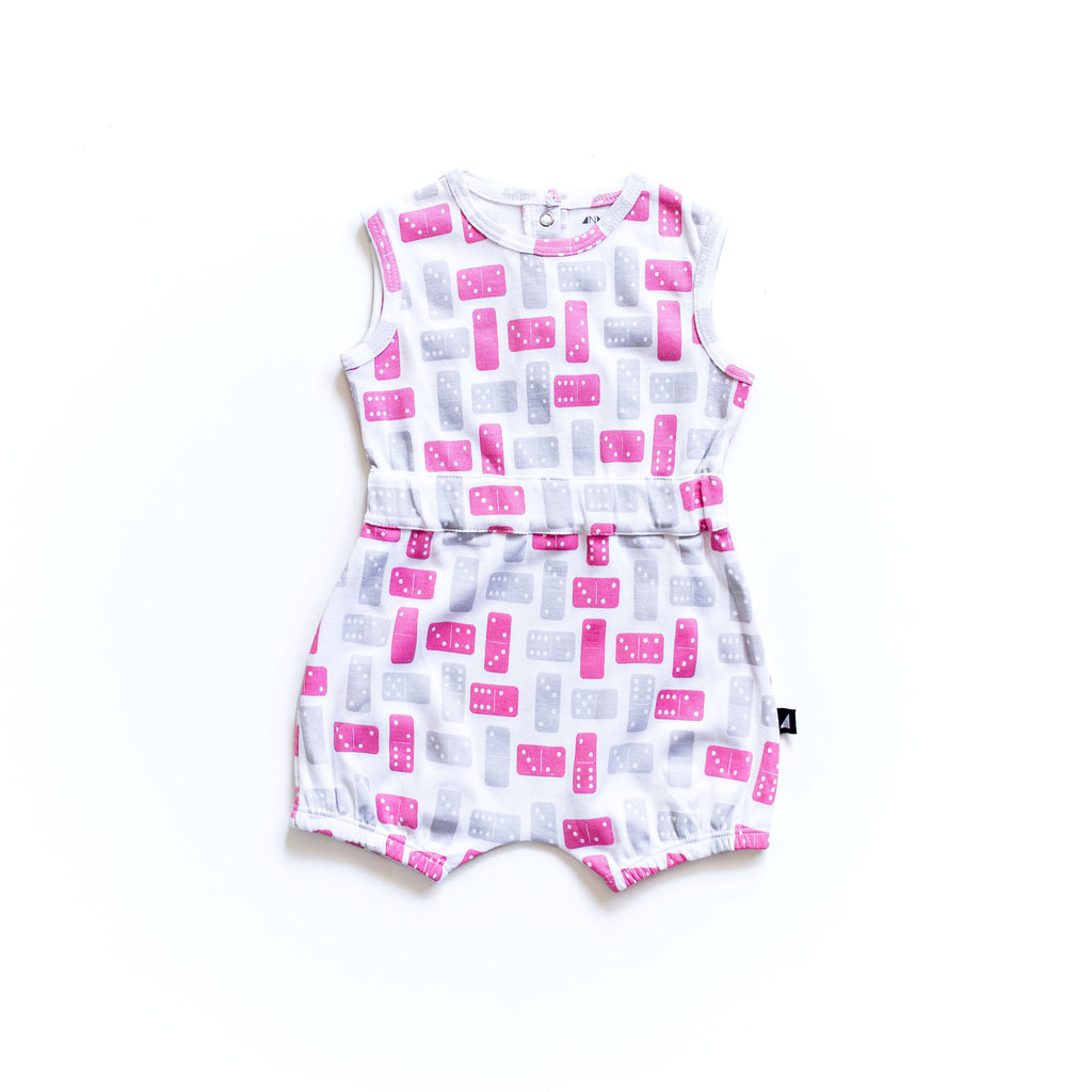 Domino Playsuit Rose by Anarkid