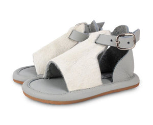 Lilo Exclusive Sandal - Leather Light Grey