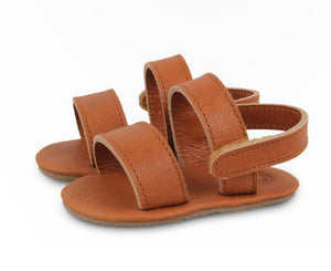 Sari Sandal - Leather Cognac
