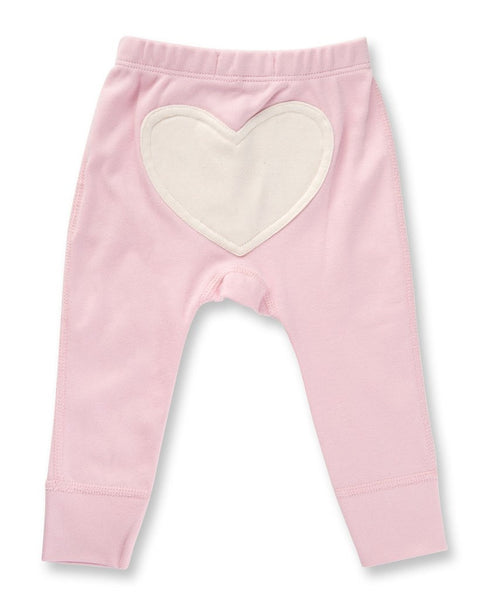 Heart Pants by Sapling Child - Dusty Pink