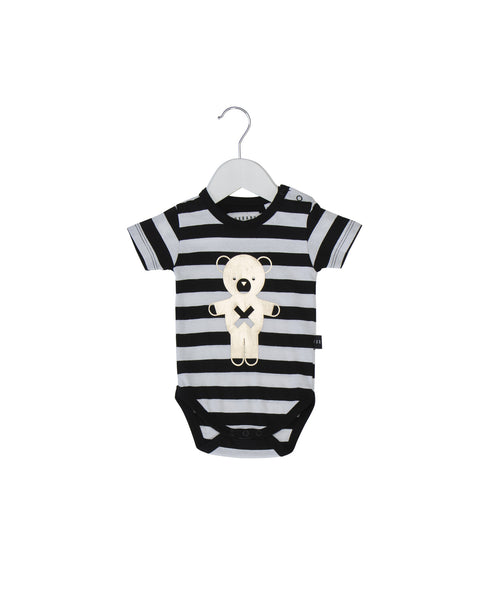 Soldier Bears Stripe onesie by Huxbaby