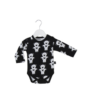 Soldier Bears L/S Bodysuit by Huxbaby
