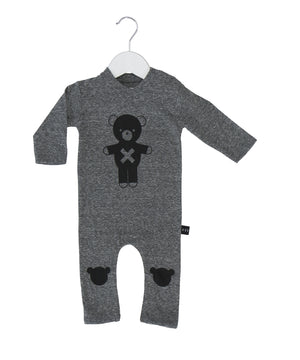Soldier Bear Romper by Huxbaby