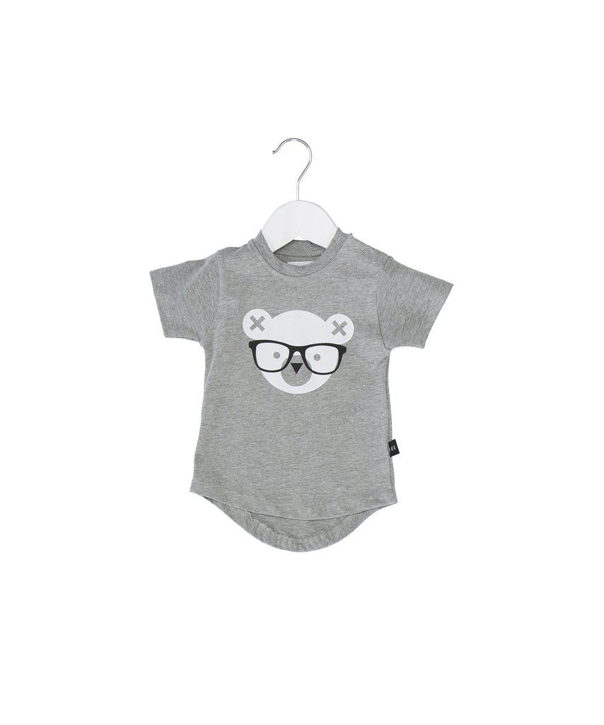 Nerd Bear Drop Tee by Huxbaby