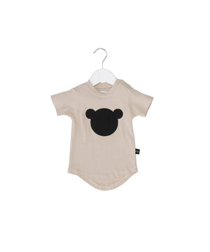 Bear Shadow Drop Tee by Huxbaby