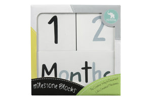 Milestone Blocks - Monochrome