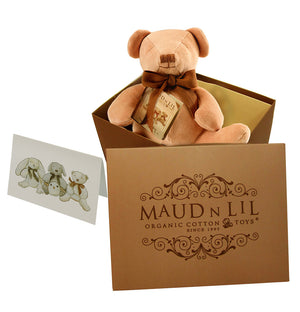 Cubby the Bear by Maud n Lil