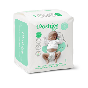 Eco Nappies – Newborn. <5 kg, 38 pcs by Tooshies by TOM