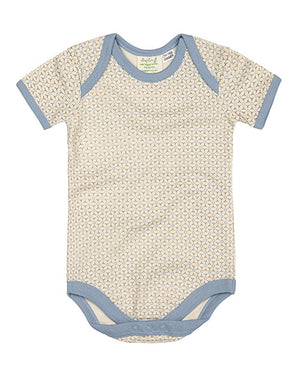 Short Sleeve Bodysuit by Sapling Child - Little Boy Blue