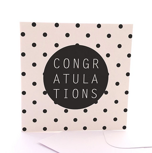 Spotty Congrats Gift Card by Sketchy
