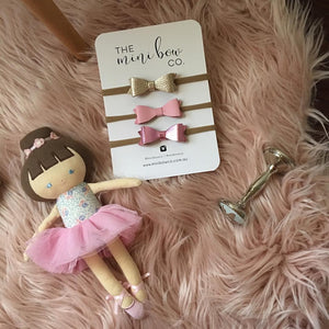 Trio Mini Bow Set