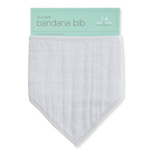 Bandana Bib by Aden + Anais - Micro Chip/Grey