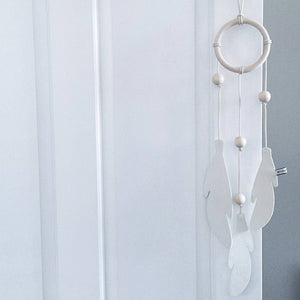 Dream Catcher - White on White by Bisou de Lou