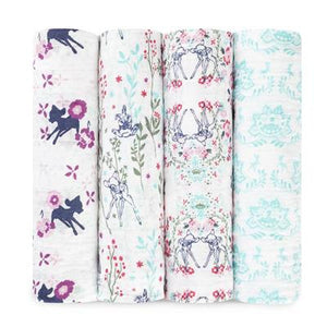 Disney Baby by Aden + Anais | Bambi 4 Pack Swaddle Pack