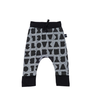 Block Drop Crotch Pant by Huxbaby