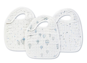 Classic Snap Bibs by Aden + Anais | Night Sky 3 Pack