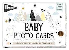 Baby Photo Cards - Over The Moon by Milestone World