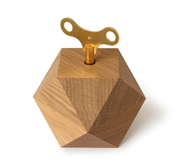 Diamond Musical Box | Waxed Oak by SIEBENSACHEN