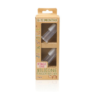 Silicone Finger Brush 2pk by Jack N' Jill (6-12months)