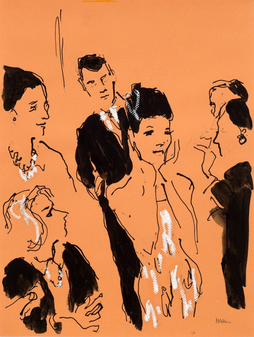 Richard Haines On Sketching The Catwalk
