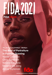 Fida Talks - The Role of Portraiture in Fashion Drawing