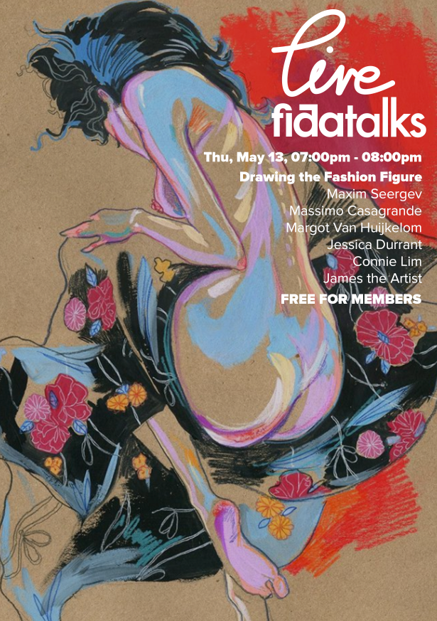 Fida Talks - Drawing the Fashion Figure