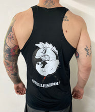 Load image into Gallery viewer, Hellfish Black Athletic Tank