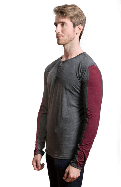 AENEAS Knitted Long Sleeve Shirt